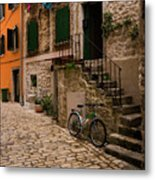 In The Old Town Metal Print