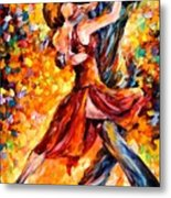 In The Rhythm Of Tango Metal Print