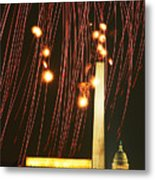 In The Rockets Red Glare Metal Print