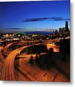 In To Emerald City C083 Metal Print