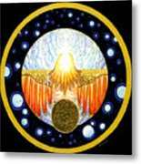 Incarnation   Mandala Series Metal Print