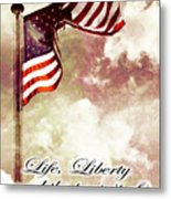 Independence Day Usa Metal Print
