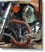 Indian Chief Vintage Ll Metal Print