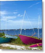 Indian River Lagoon On The Easr Coast Of Florida Metal Print