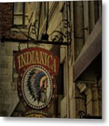 Indianica Montreal Metal Print
