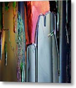 Ink Drum Metal Print