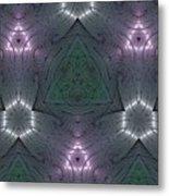 Inside The Crystal Metal Print