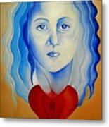 Insideout Metal Print by Yxia Olivares