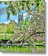 Inspirational - Cherry Blossoms Metal Print