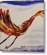 Inspired By Calder's Only Only Bird Metal Print