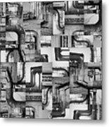 Intestins Metal Print