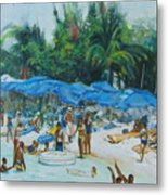Intimacy On Vacation Metal Print