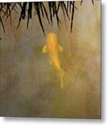 Into The Rushes Metal Print by Rebecca Cozart