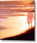 Into The Sunset 5 Metal Print