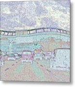 Invesco Field Metal Print
