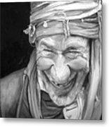 Iranian Man Metal Print
