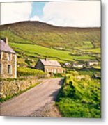 Ireland Farmland Metal Print