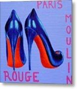 Irish Burlesque Shoes Metal Print