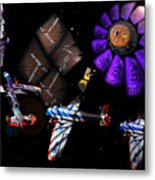 Iron In The Sky Metal Print