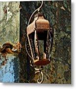 Iron Lamp 7868 Metal Print