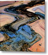 Irrigation Metal Print