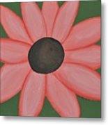 Isaiah's Flower Metal Print