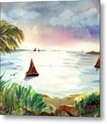 Island Of Dreams Metal Print