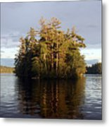 Island Reflections Metal Print
