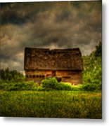 Isolated Barn Metal Print