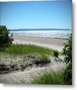 Isolated Beach Metal Print