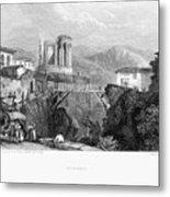 Italy: Tivoli, 1832 Metal Print