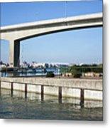 Itchen Bridge Southampton Metal Print