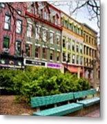 Ithaca Commons Metal Print