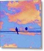 It's Morning Metal Print