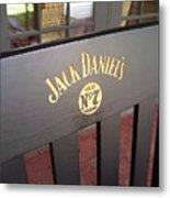 Jack Daniel's 3 Metal Print
