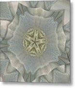 Jacket Flowers Metal Print
