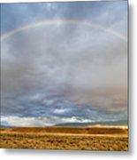 Jackson Hole Rainbow Metal Print