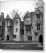 Jacobean Wing At Donegal Castle Ireland Metal Print