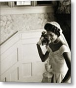 Jacqueline Kennedy Metal Print by Granger