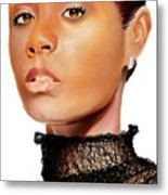 Jada Pinkett - Smith - 01 Metal Print