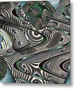 Jade Worlds Metal Print