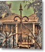 Jamaican Gate Metal Print