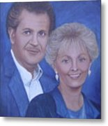 Jane And Ray Metal Print