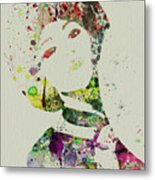 Japanese Woman Metal Print