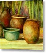 Jars Basking Metal Print