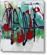 Jazz 2nd Series Painting 5 Metal Print