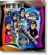 Jazz Combo Metal Print