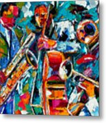 Jazz Magic Metal Print