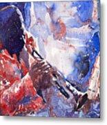 Jazz Miles Davis 15 Metal Print