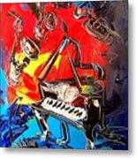 Jazz Piano Metal Print